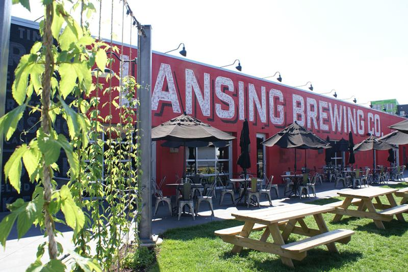 Lansing Brewing Company Outdoors