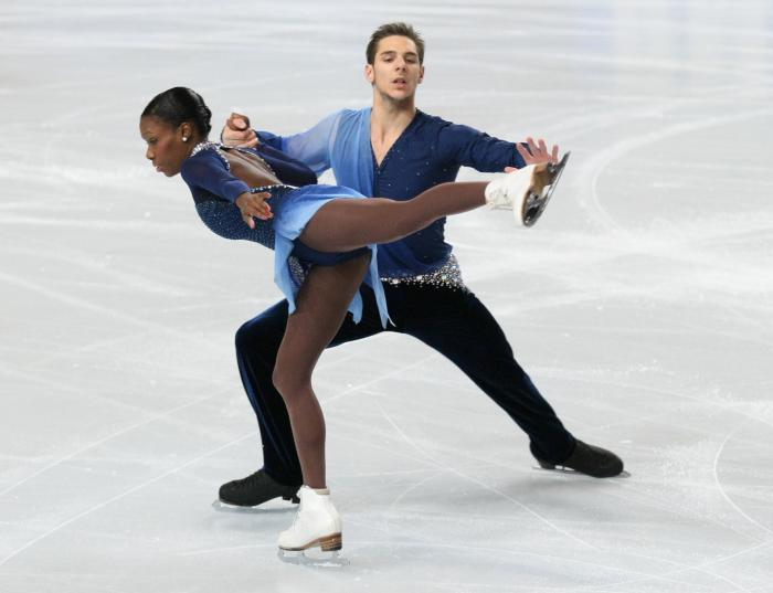 Winter Olympics Ice Skaters