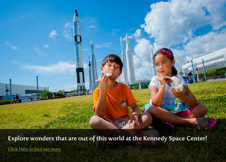 Kennedy Space Center Rocket Garden
