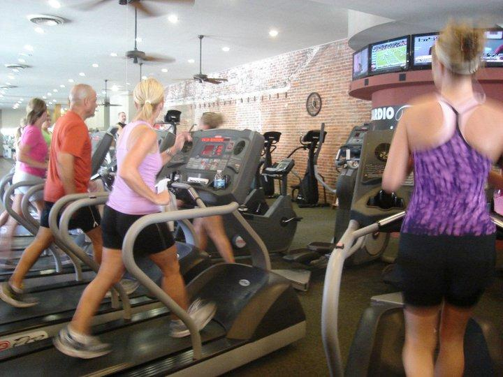 Gigi's Downtown has a full gym plus several classes to choose from.