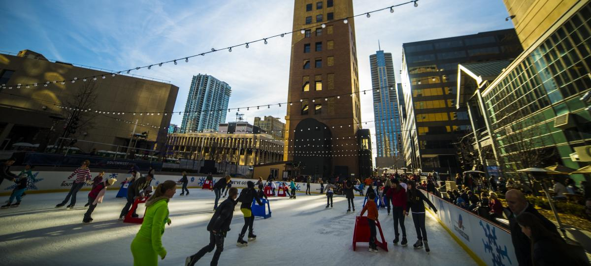 Ice Skating Rink at Skyline Park Header