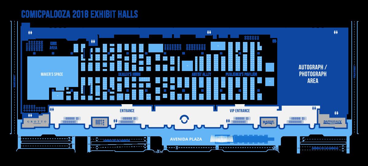 Exhibitor Map - Shopping