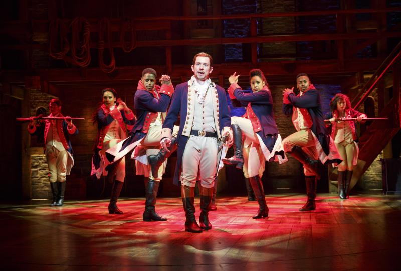 Hamilton Des Moines Performing Arts