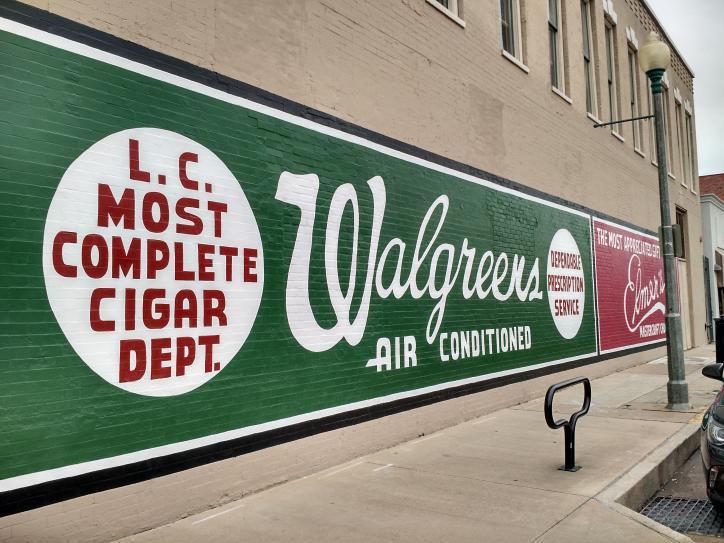 Walgreens mural