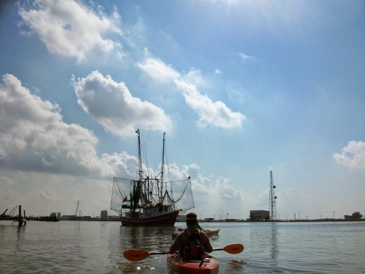 Kayaking in Lake Charles & Cameron