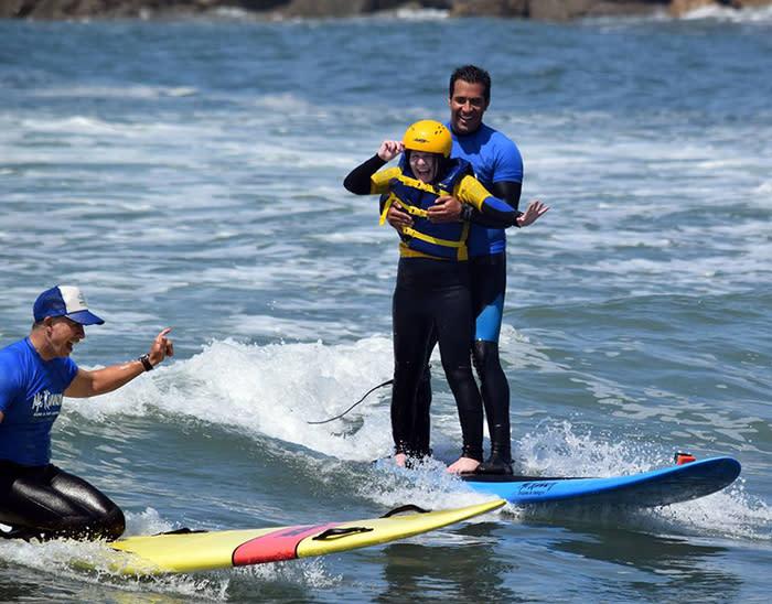 McKinnon Adaptive Surfing