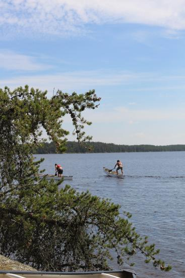 Camping with Twin River Travel in Manitoba's gorgeous Nopiming Provincial Park