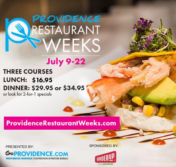 Providence Restaurant Weeks