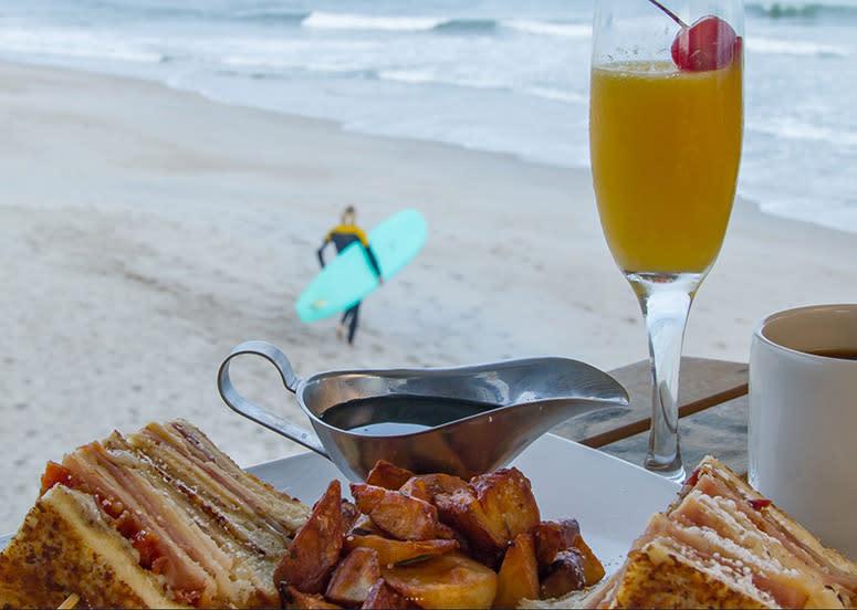Brunch and a beach view at Oceanic Restaurant