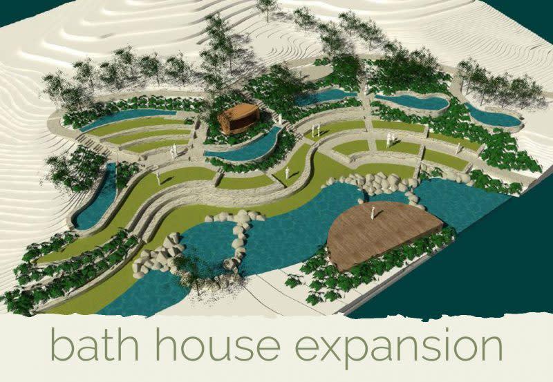 Peninsula Hot Springs  bath house expansion