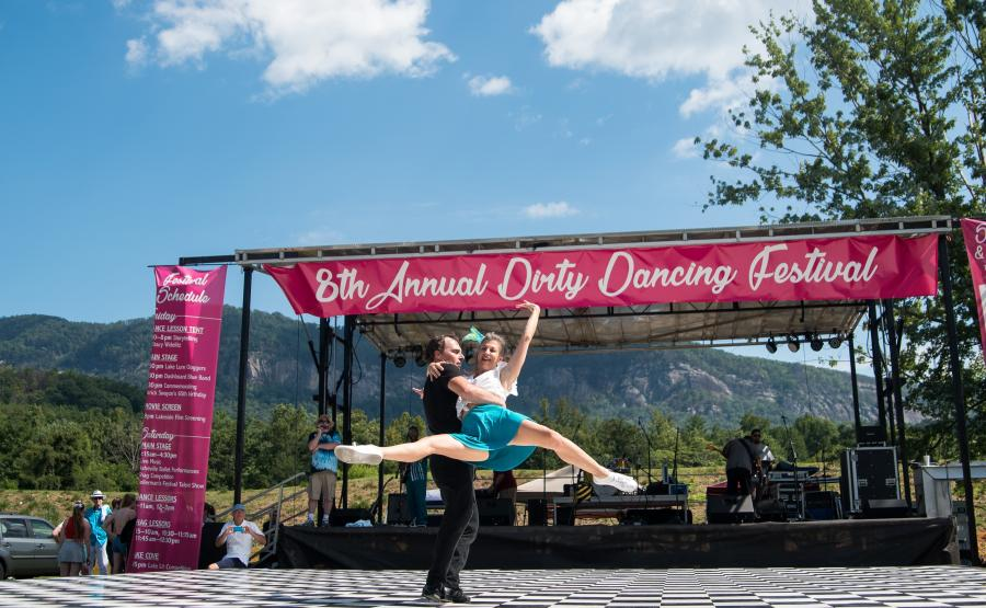 Dirty Dancing Festival, Lake Lure NC