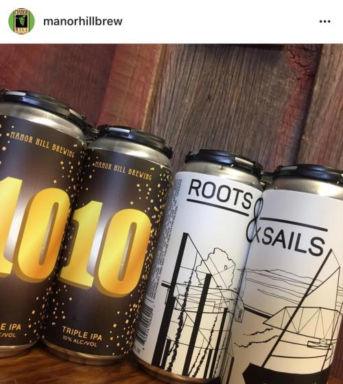 Manor Hill Brewing Cans