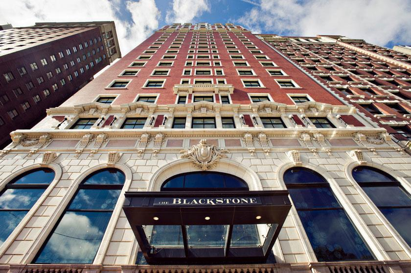 Exterior of The Blackstone Hotel