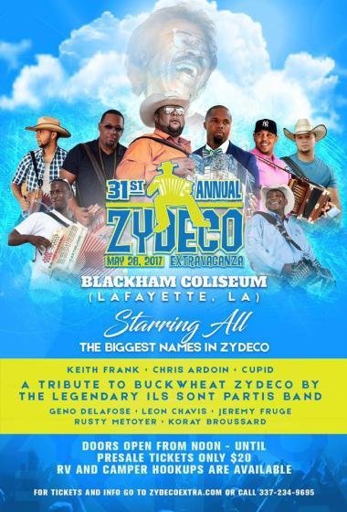 Zydeco Extravaganza 2017