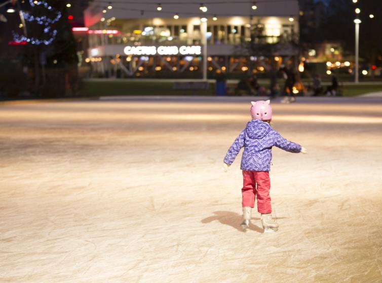 Stuart Park Ice Skating - Hannah