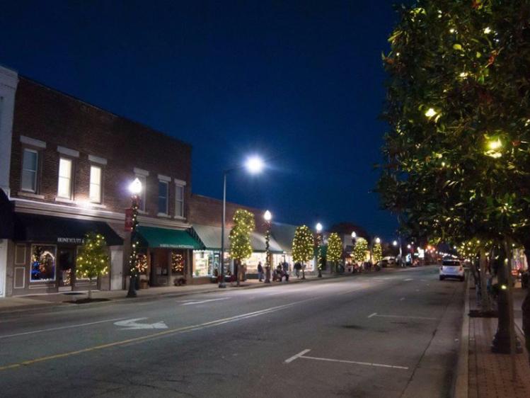 Benson Christmas Downtown Lights