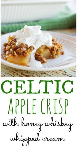 Celtic Apple Crisp Recipe Graphic