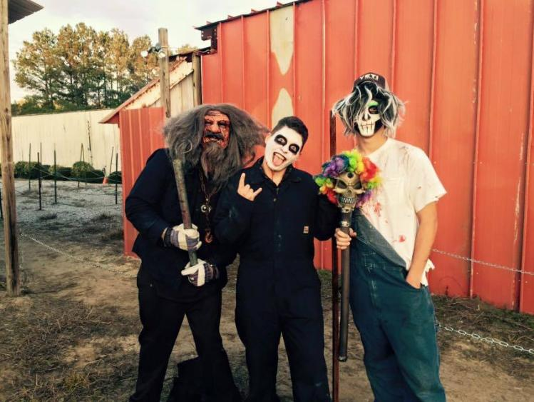 Clayton Fear Farm Actors