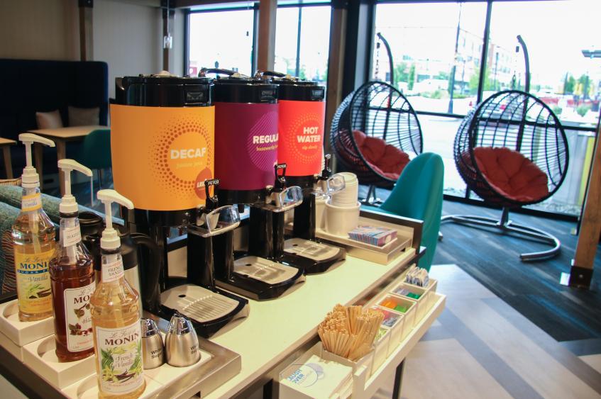 TRU Complimentary Coffee