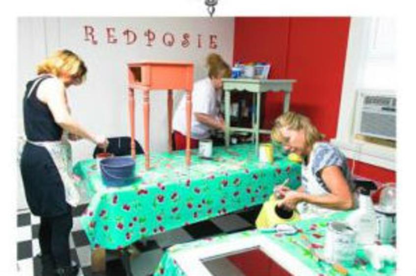 Redposie Paint Workshops