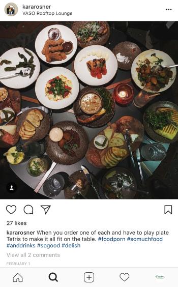 VASO food UGC