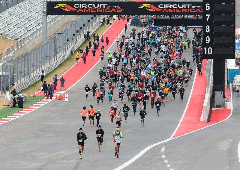HITS Austin run at Circuit of The Americas in 2014