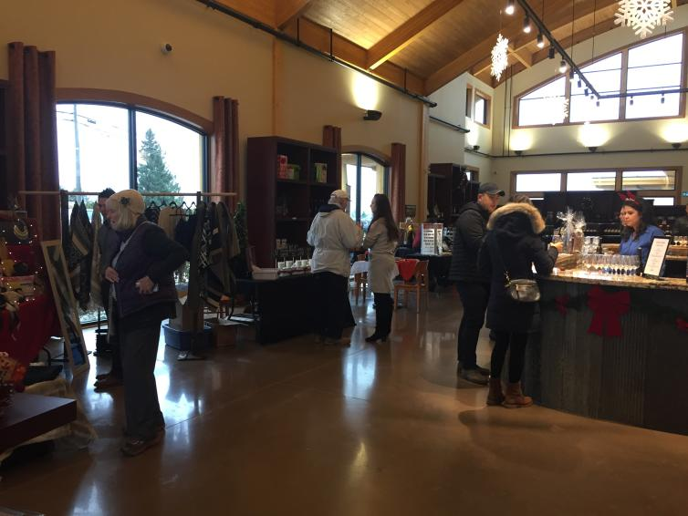 Grizzly Winery Christmas Market