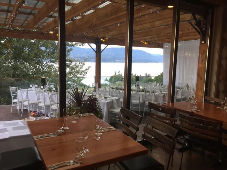 Summerhill Winery Event Setup
