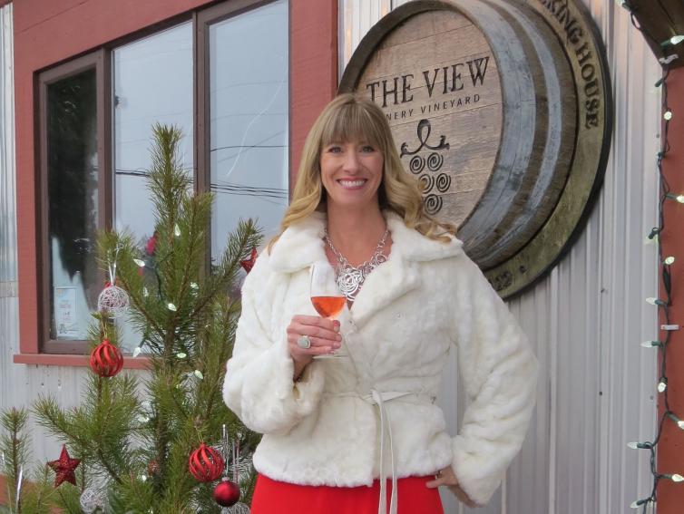Jennifer at The View Winery