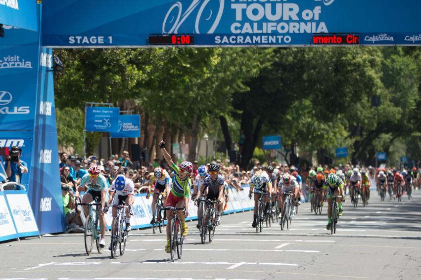 Amgen Tour of California - Women's Race