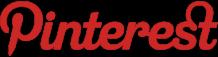 Pinterest logo Clear