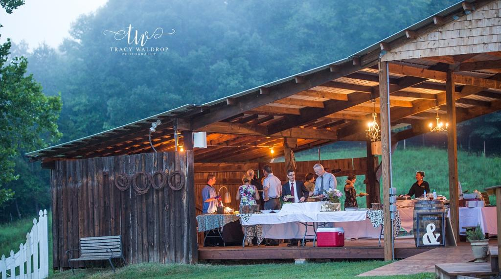 Pavilion Lake Lure Wedding Venue