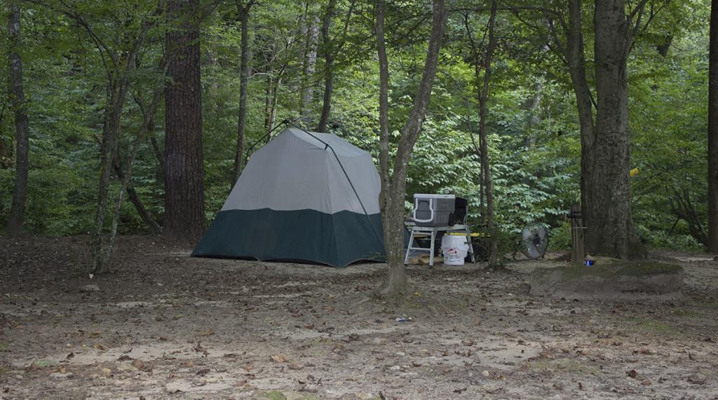 Camping at Thermal City