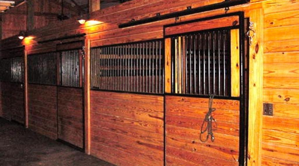 12 x 12 matted stalls