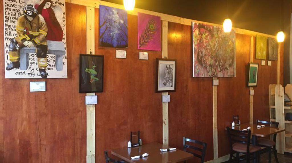 Inside Shot Foothills Cafe