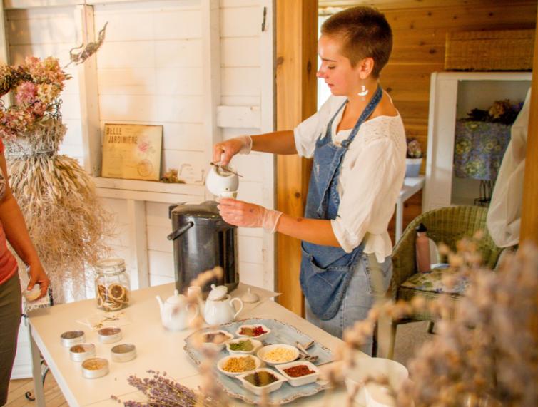 Tea Workshop at Lavender Farm
