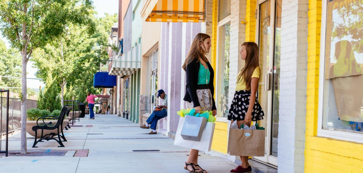 Downtown Girls Shopping