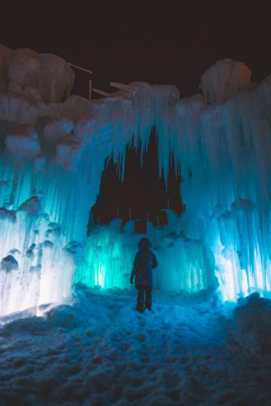 Ice Castles at The Forks, Winnipeg