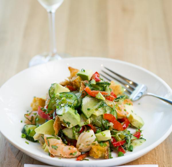 Piatello's panzanella salad