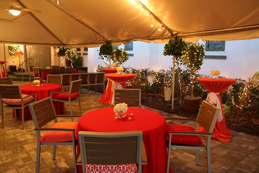 Courtyard Front Tent eastside