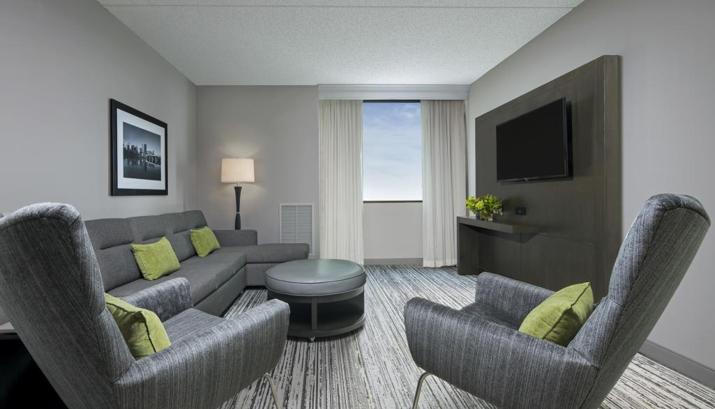 Columbus Marriott Northwest Living Room