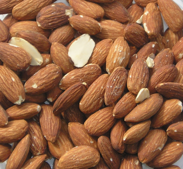 Almonds photo by M. Verkerk