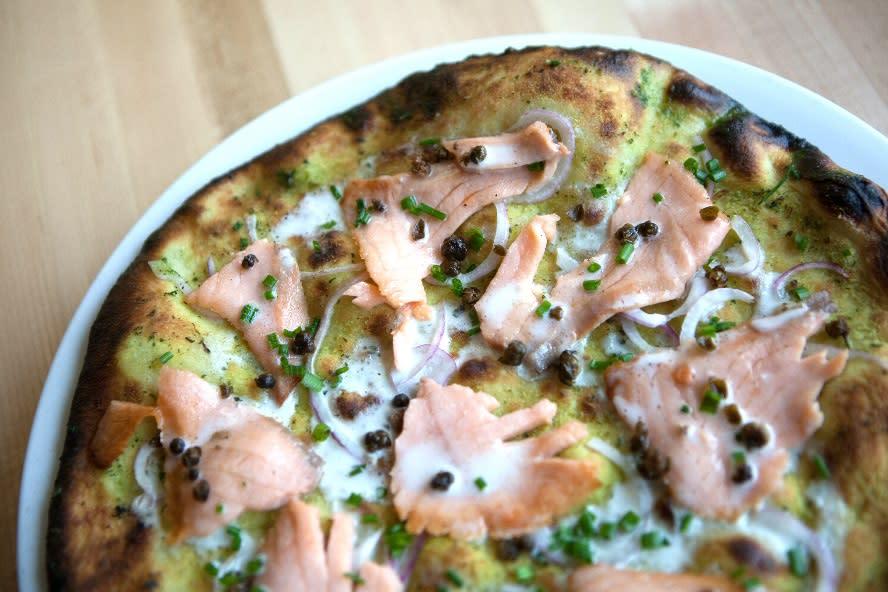 Radius Pizzeria Smoked Salmon
