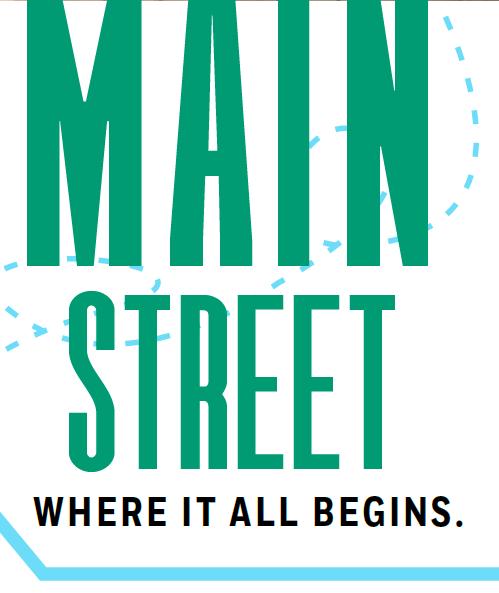 Main Street Begins