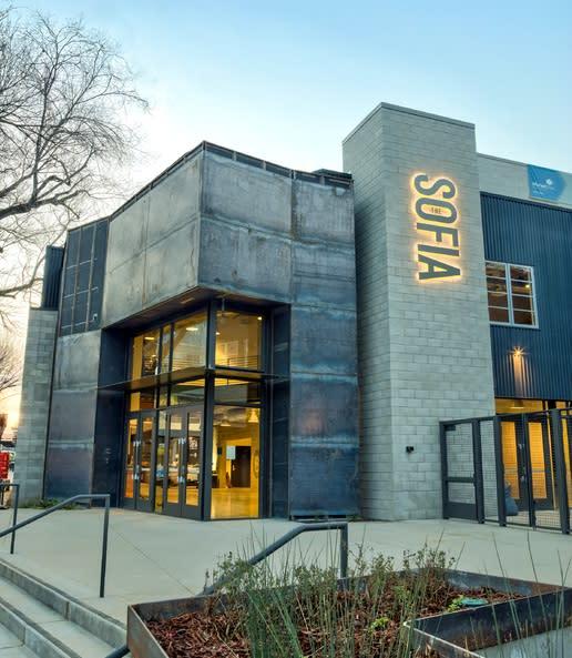 The Sofia. Sacramento's new theater and off-site venue.