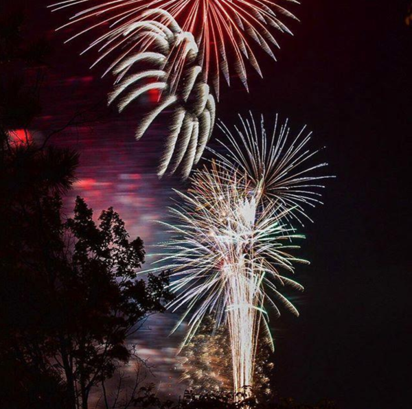 Fireworks at Carson Park in Eau Claire