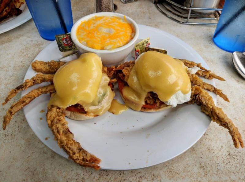 Citrus Soft Shell Crab