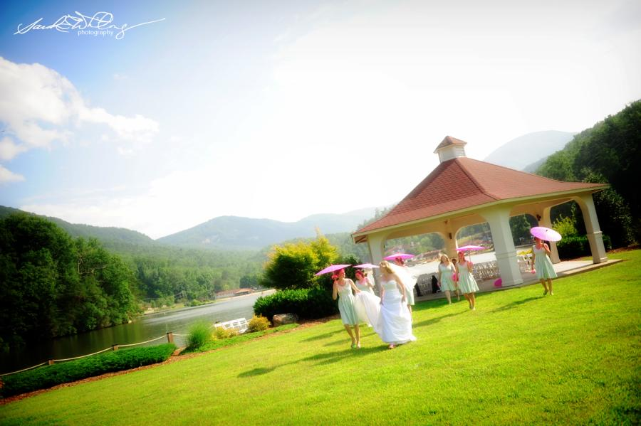 Lake Lure Gazebo Wedding