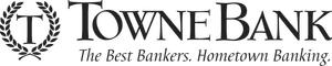 TowneBank logo- Gourmet golf tournament