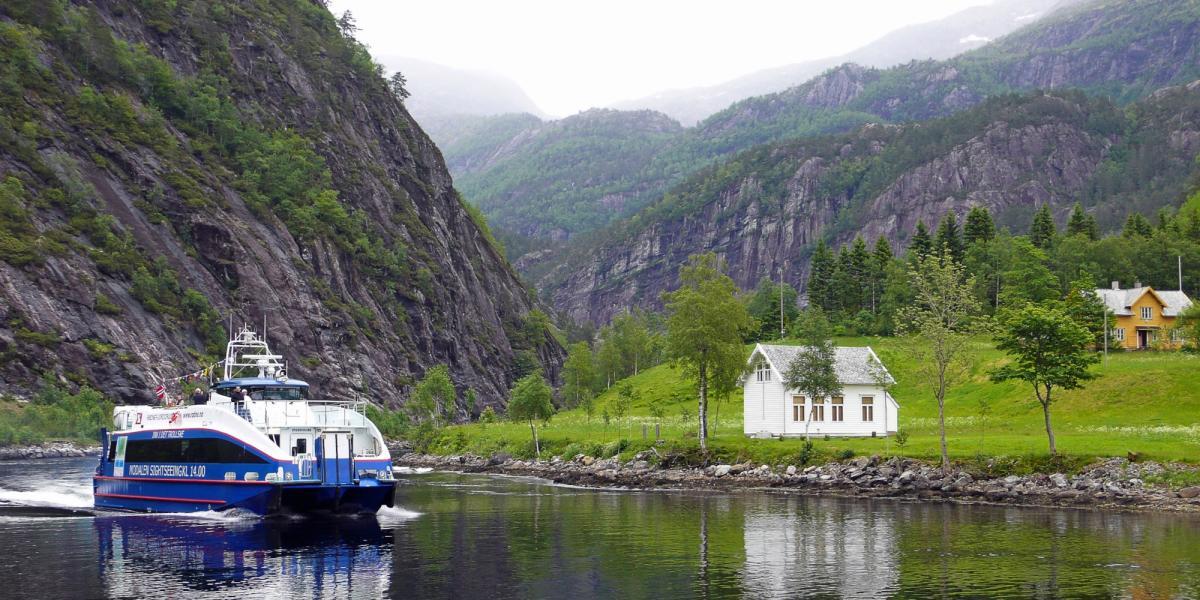 Fjordcruise Bergen - Mostraumen